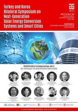 Turkey and Korea Bilateral Symposium on Next-Generation Solar Energy Conversion Systems and Smart Cities